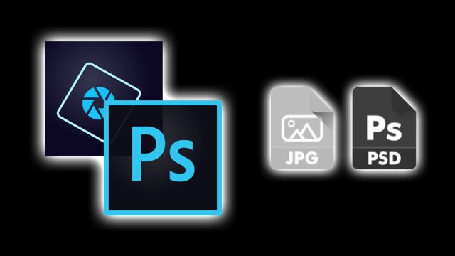Photoshop JPEG saving as PSD fix