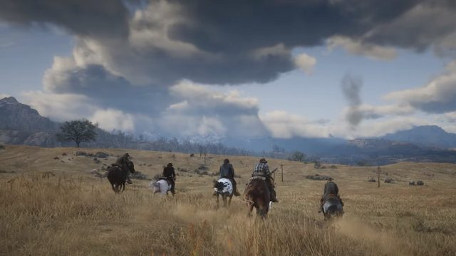 Red Dead Redemption 2 fan marathon gaming session hurricane