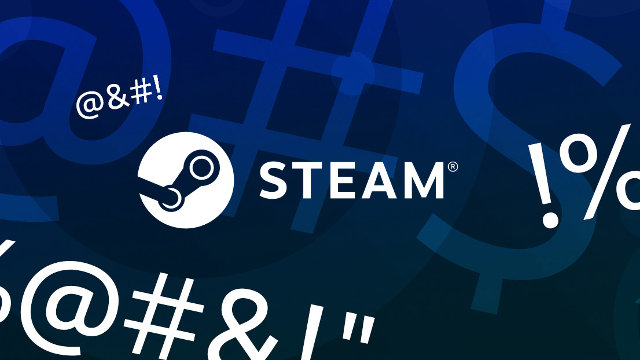 Steam chat filtering