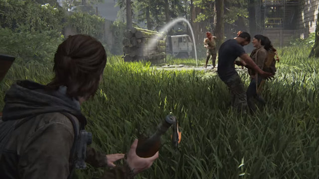 The Last of Us 2 permadeath molotov