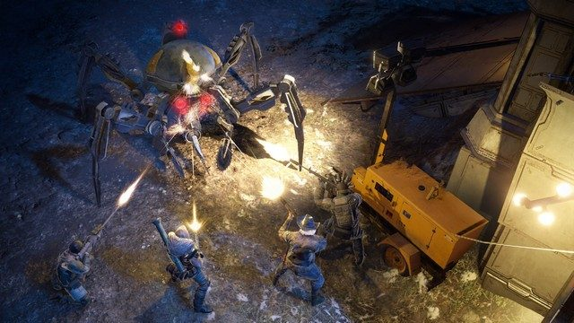 Wasteland 3 Review Robot fight