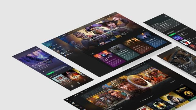 Xbox Game Pass Android store sideways
