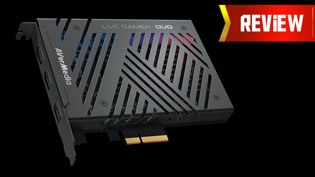 AVerMedia Live Gamer DUO Review (GC570D)