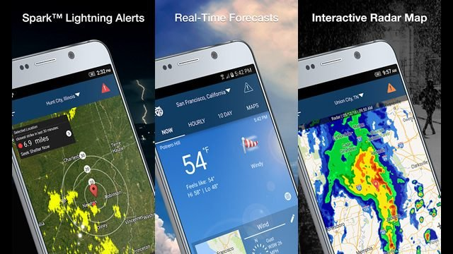 Best Dark Sky Replacement App Android Weather - Weatherbug