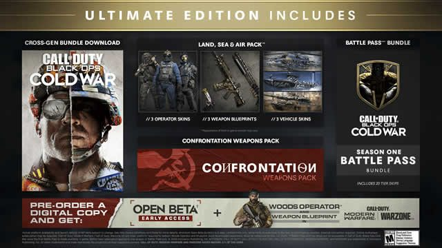Which Black Ops Cold War edition to buy for cross-gen support