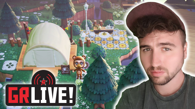 gr live animal crossing cottagecore