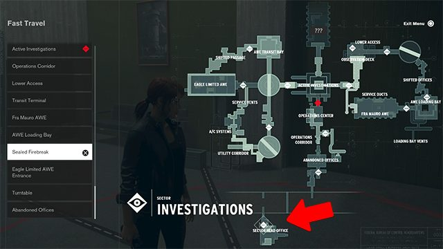 How to find the Gerbil Took the Top Head item locations in the Control AWE DLC