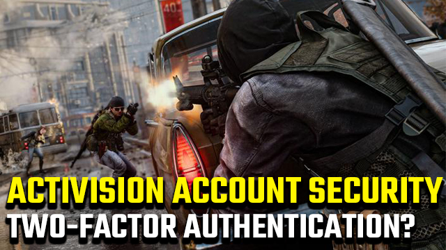 Activision account two-factor authentication