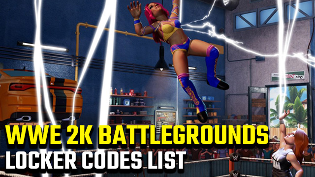 All WWE 2K Battlegrounds locker codes list