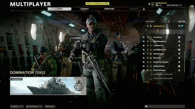 Call of Duty Black Ops Cold War Combined Arms Mode Game Type