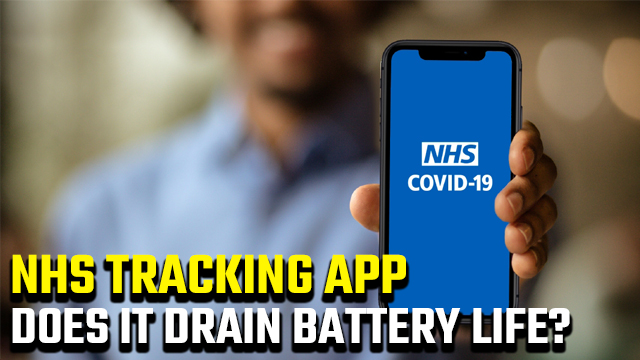 Does the NHS app drain battery life?