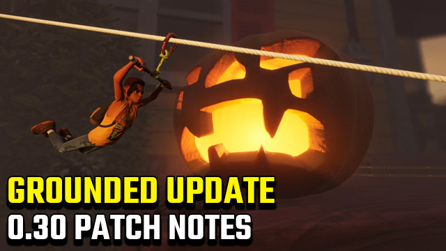 Grounded 0.3.0 Update Patch Notes