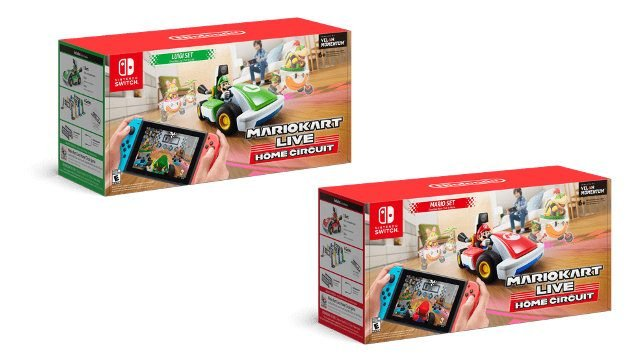 How much does Mario Kart live cost? boxes
