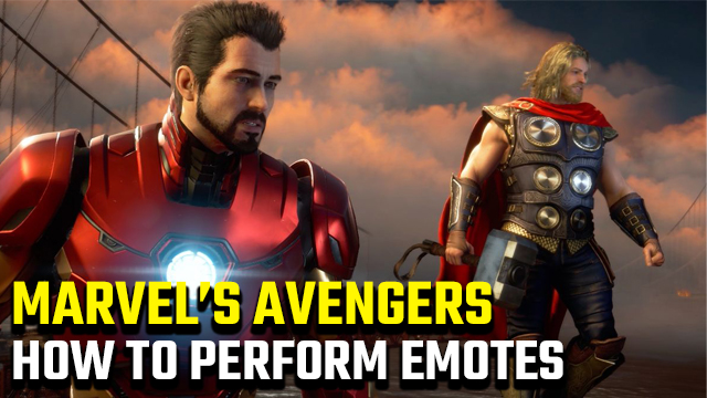 How to emote in Marvel's Avengers