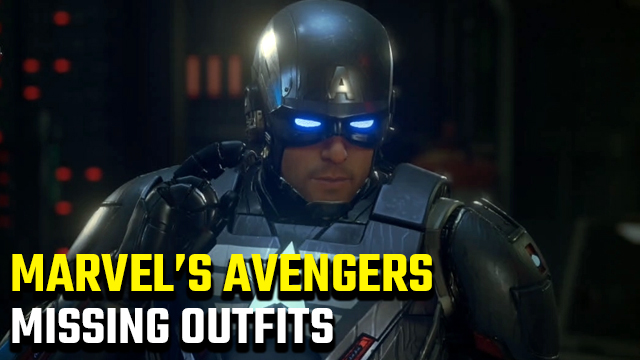 Marvel's Avengers Missing Outfits