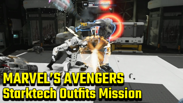 Marvel's Avengers Starktech Outfits Mission Guide