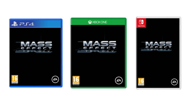 Mass Effect Trilogy remastered PS4 Xbox One Nintendo Switch mockup