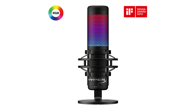 New HyperX QuadCast S microphone