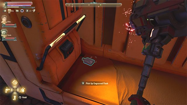 How to find Jerome's flask in The Outer Worlds Peril on Gorgon DLC