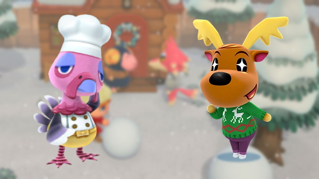when are Franklin and Jingle coming to Animal Crossing New Horizons
