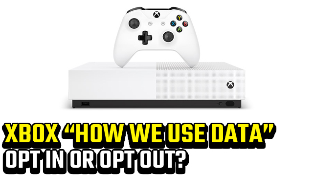 xbox how we use your data