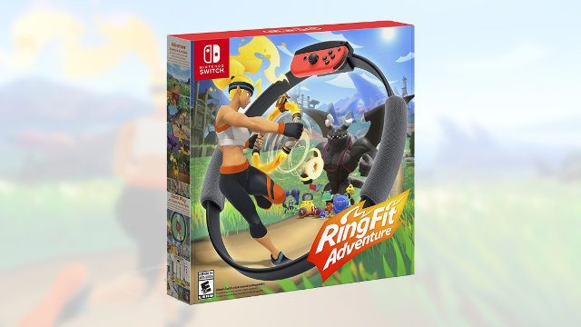 Amazon Prime Day Nintendo Switch deals Ring Fit Adventure