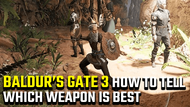 Baldur's Gate 3 how to tell which weapon is best