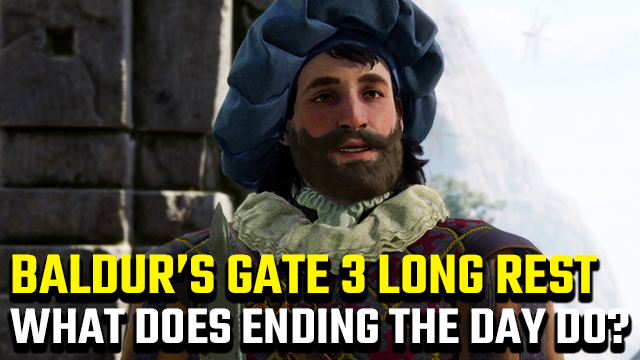Baldur's Gate 3 long rest