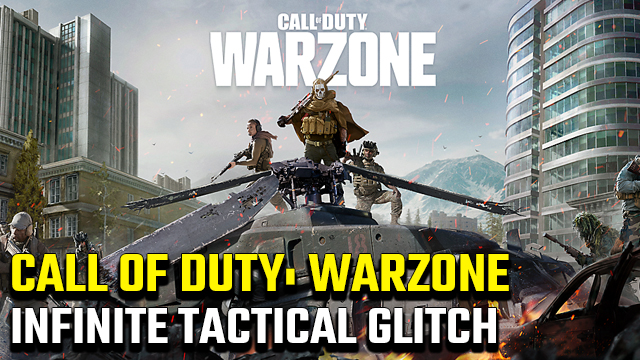 Call of Duty Warzone Infinite Tactical Glitch