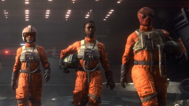 Does Star Wars: Squadrons have a campaign Rebel pilots