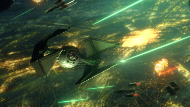 Does Star Wars: Squadrons have a campaign TIE Interceptor