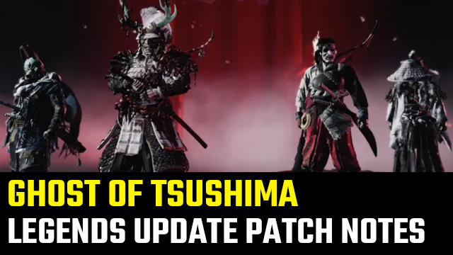 Ghost of Tsushima 1.12 Update Patch Notes