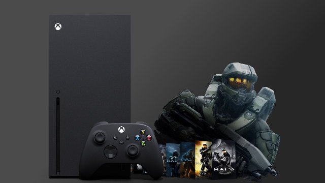 Halo MCC Xbox Series X Master Chief Collection console