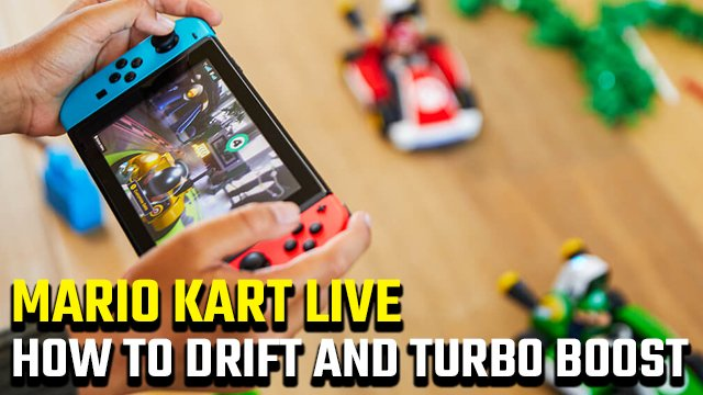 How to drift and turbo boost in Mario Kart Live