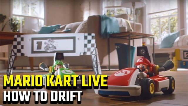 How to drift in Mario Kart Live