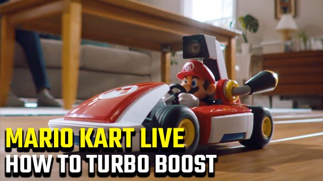 How to turbo boost in Mario Kart Live