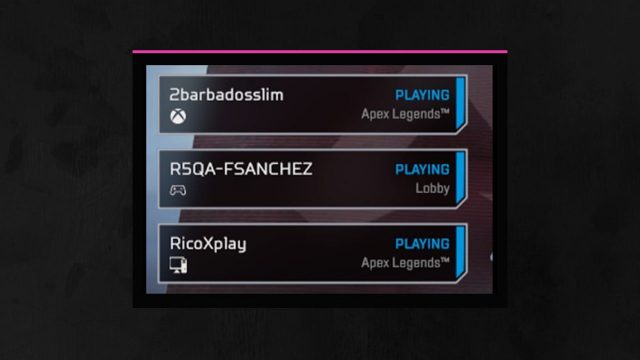How to use Apex Legends Crossplay team