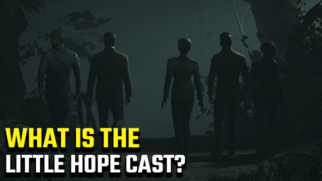 Little Hope Cast   Who are the actors?