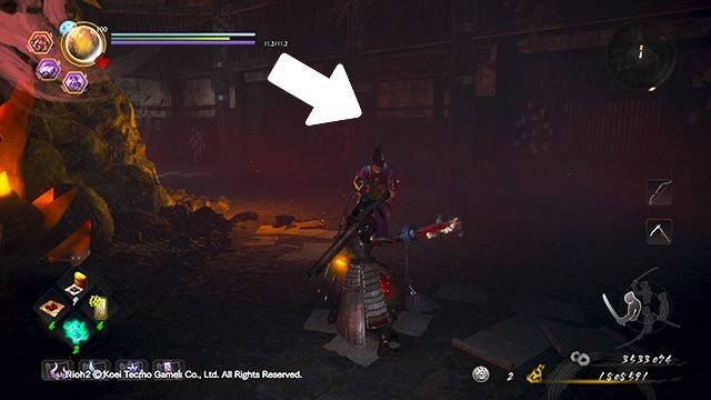 Nioh 2 Darkness in the Capital Kodama Locations | Palace of the Damned
