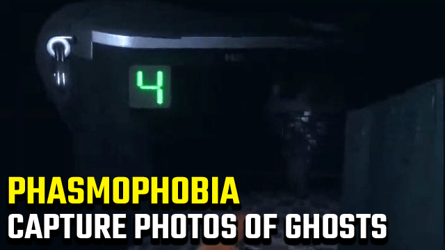 Phasmophobia capture photo of ghost