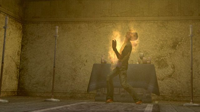 Silent Hill 2 PC release game fire