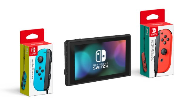 Single Joy-Con drift Nintendo Switch left right boxes