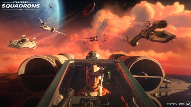 Star Wars: Squadrons down