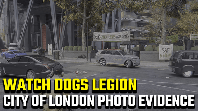 Watch Dogs Legion City of London Photographic Evidence Guide