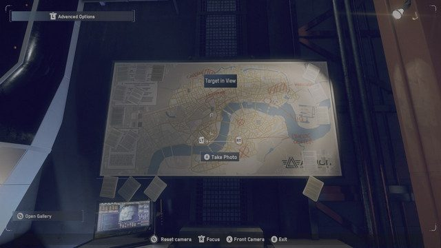 Watch Dogs Legion Nine Elms Photographic Evidence Map