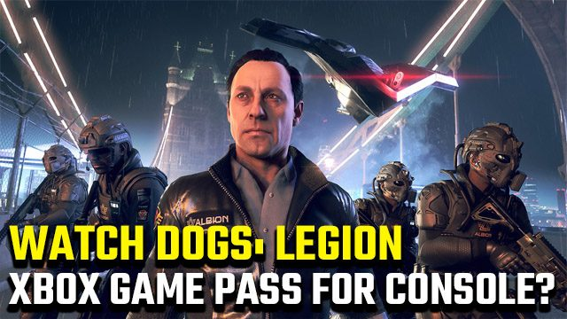 Watch Dogs Legion Xbox Game Pass for console