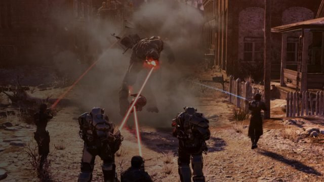 When is the Fallout 76 Steel Dawn release date laser rifle