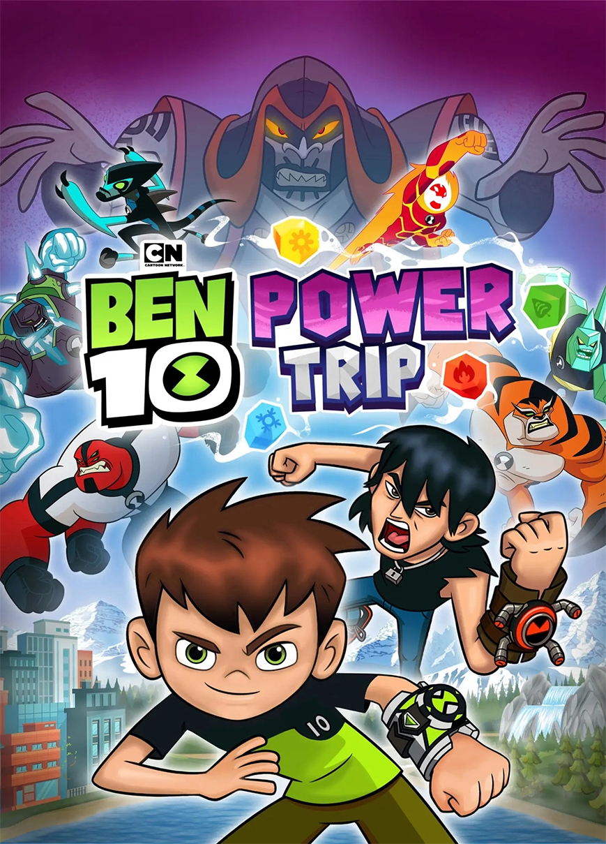 Box art - Ben 10: Power Trip