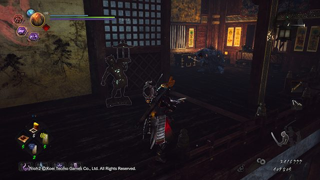 Nioh 2 Darkness in the Capital Hot Spring Locations | The Buddha's Palm