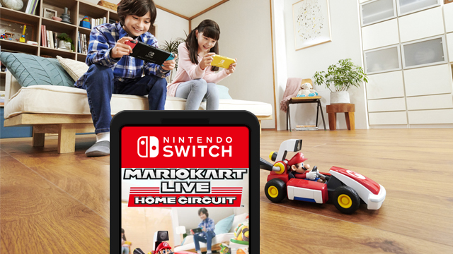 mario kart live home circuit game cartridge